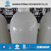 Cylindre de gaz à haute pression d'acier sans couture d'ISO9809 (ISO9809 219-40-150)