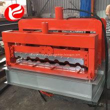 Panel de techo de acero automático, teja esmaltada que forma la máquina