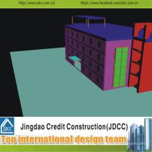 Edificio comercial prefabricado de alta calidad
