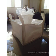 Bolsa tejida de fibra PP para embalaje y transporte