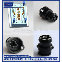 custom car charger plastic mould, durable auto accessory car adaptor mold (video)