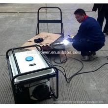 BISON (CHINA) 5kw Honda портативный бесшумный генератор сварщика длительного времени