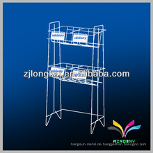 Neue Design Metall Einzelhandel Tabloid Zeitung Display Racks