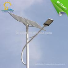 haute luminance 30W 36W 40W 50W 60W 70W 80W 90W 100W 120Wsolar yard lumière et lampe; LED solaire éclairage public CE SUNCAP