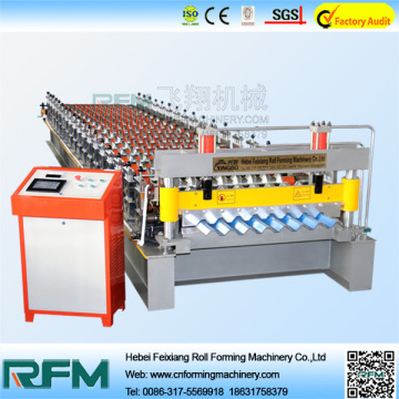 Barrel Type Corrugated Iron Sheet Making Machine