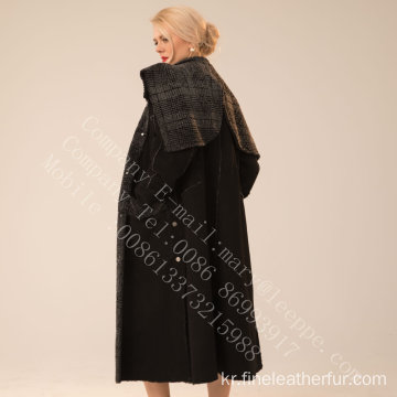스페인 메리노 Shearling Overcoat for Women