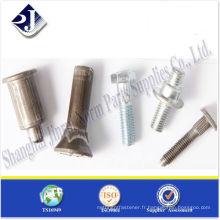 SAE boulons spéciaux à haute résistance plaqués pour auto TS16949 ISO9001 AVEC PPAP
