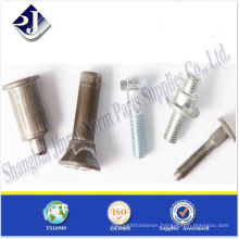 SAE high tensile special bolts plated for auto TS16949 ISO9001 WITH PPAP