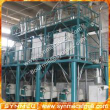 máquina de procesamiento de harina de trigo completamente automatizada