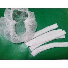 Wegwerfbare nicht gesponnene Haar-Netz-Kappen