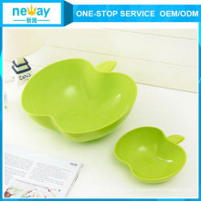 China Manufacturer of Apple Plastic Fruit Plate