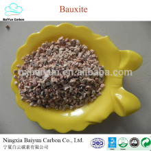 Factory calcined bauxite price 60%-88% Al2O3 refractory raw bauxite for sale