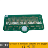 metal dome tactile pcb membrane keypad switch