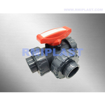 PVC Ball Valve Three Way L Port