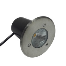 Outdooor Ground Waterproof IP67 3W RGB White LED Underground Light Stainless Steel