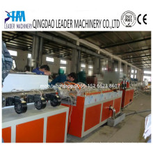 PVC, PP, PE, PC, ABS Small Baguette Profile Extrusion Line