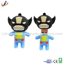 Custom Super Man Skull USB Flash Drive (JV1111)