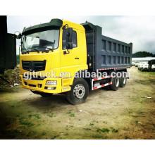 6x4 lecteur 375Hp EURO 3 Dongfeng camion à benne basculante / Dongfeng benne camion / Dongfeng mine camion / Dongfeng camion benne / camion de transport de l'argile
