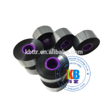Black wax resin ribbon 33mm*600m compatible Domino printer black ribbon