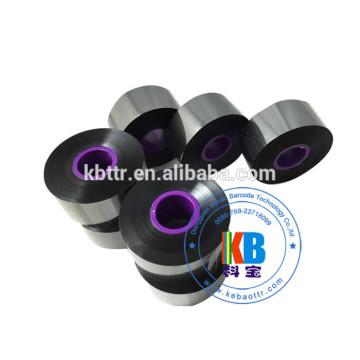 Black wax resin ribbon 33mm*600m compatible Domino printer black ribbon