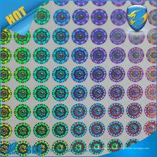Holograma de matriz de puntos anti-falsificación 3D