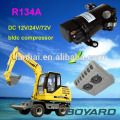 R134A boyard bldc 12 v mini air compressor for refrigerator mobile refrigeration