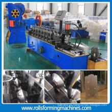 máquina automática de alta velocidad automática de alta velocidad del ángulo del L del panel de yeso que forma la máquina con los agujeros de perforación