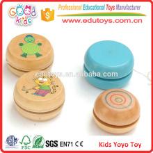 Горячие продажи Рекламные FSC Деревянные игрушки YoYo