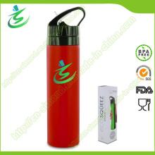 600ml Silikon Foldbale Kollabierbare Wasserflasche