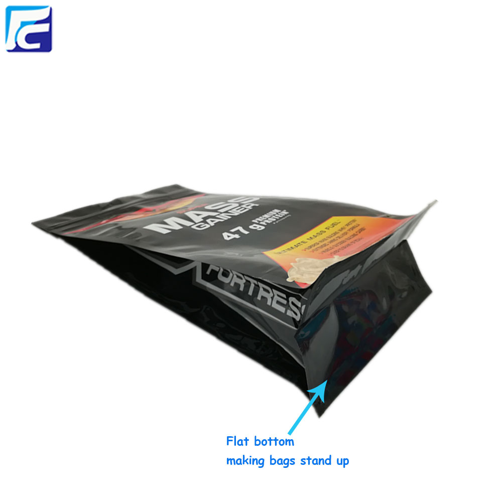Food Packaging Bag with Side Gusset