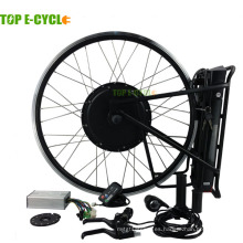 Top e-cycle e bike kit 1000W con batería trasera