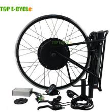 Top kit vélo électrique e-cycle 1000W avec batterie à l'arrière