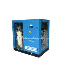 Compresseur d'air lubrifié par vis contrôlée par inverseur stationnaire d'huile (KC37-10INV)