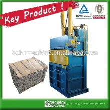 Prensadora de cilindros de prensa inteligente para papel usado
