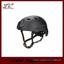 Capacete de Pj rápido militar com Nvg Mount & lado trilho Airsoft capacete tático