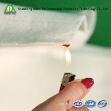 150gsm thermofusible FR polyester fiber de remplissage de matelas