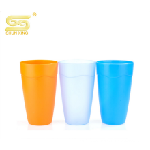colorful drinking water juice pp plastic cup for use