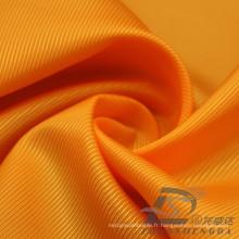 Imperméable à l'eau et à l'extérieur Vêtements de sport en plein air Veste en bas Woven Twill Jacquard 100% Tissu en polyester (E100)