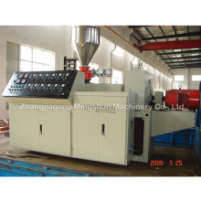 PVC Conical Double Screw Extruder