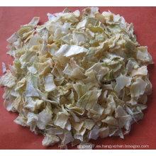 Copos de cebolla secos