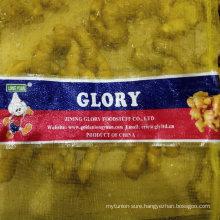 Mesh Bag Packed Fresh Ginger to Vietnam Market