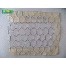 PVC+Coated+Galvanized+Hexagonal+Wire+Mesh