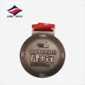 Médaille de métal à pied