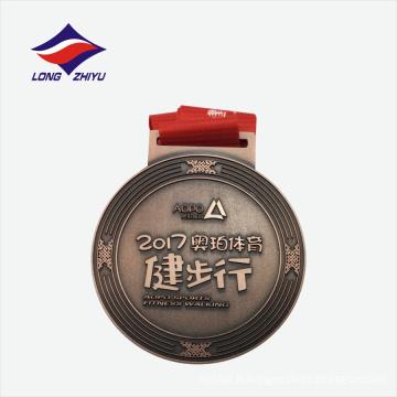 Prix d'usine, impression expoxy, médaille de métal de sport