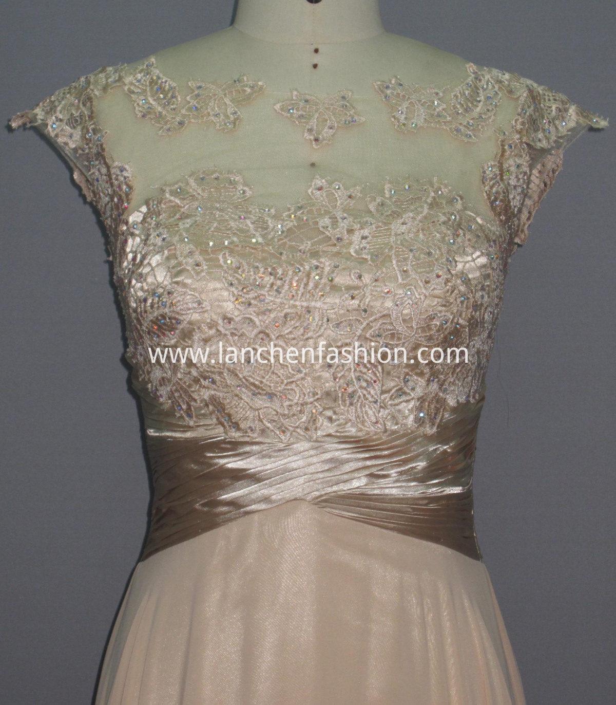 Women's Lace Satin Length