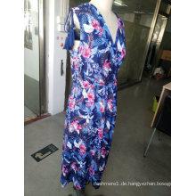 Mode Blume Charming Schöne Damen Kleid