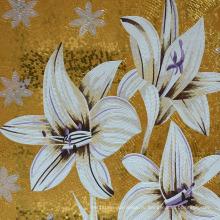 Мозаичный цветок ручной работы