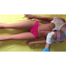 Énorme gros cul 153 cm violet perruque pleine silicone poupée de sexe gros seins réaliste TPE sexe amour poupées pour hommes