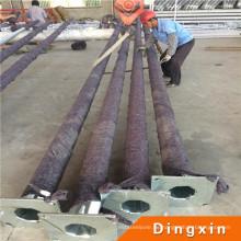 7m heißes tiefes galvanisiertes Metall Pole mit ISO-CER