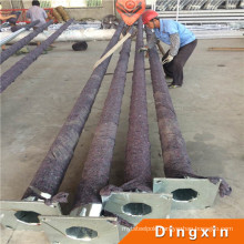 7m Hot Deep Galvanized Metal Pole with ISO CE